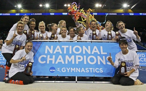 2013 NCAA Super Six National Champions - the Florida Gators. Their first  but not their last.
