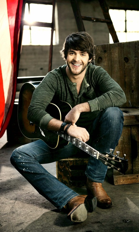 Thomas Rhett. I get to see him in concert April 19th with Jason Aldean and jake owen