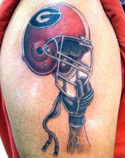 Best Football Tattoo Designs