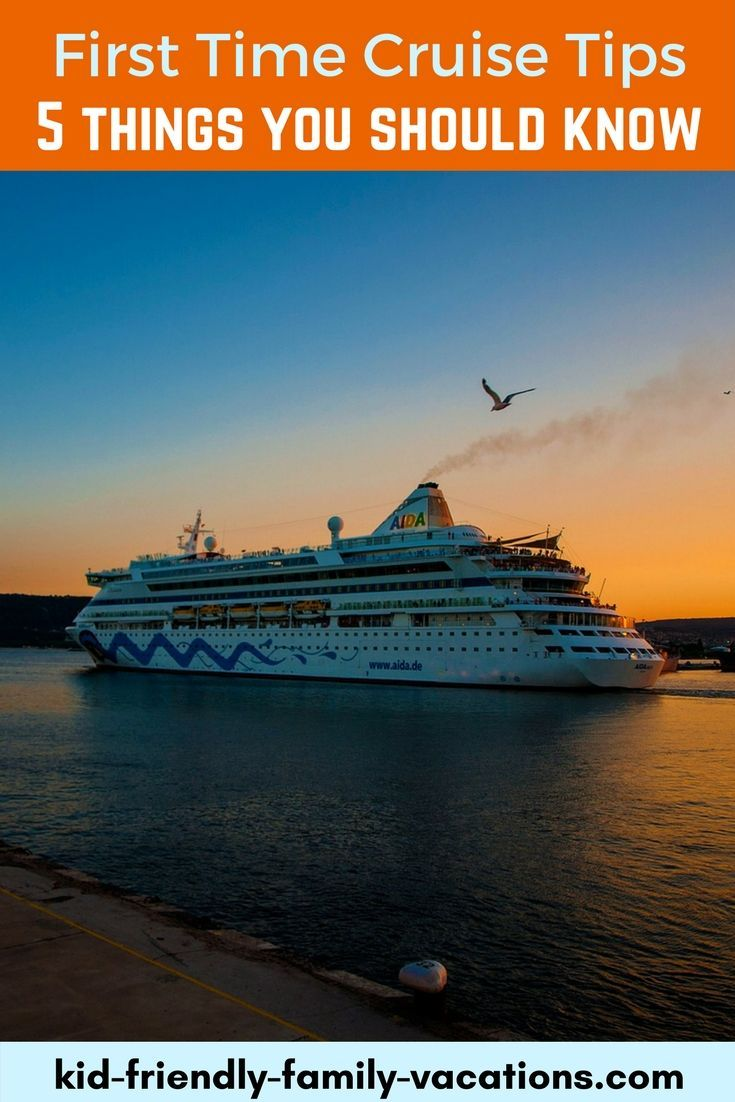 First time cruise tips - 5 things every first time cruiser should know including choosing your cruise line and what to pack!