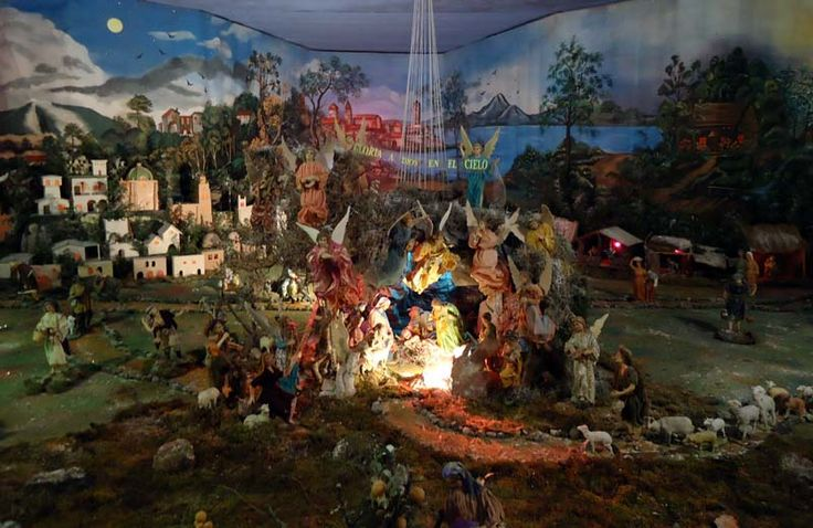 """Cumple 6 décadas uno de los mejores """"Nacimientos"""" de México; se ubica en Morelia en el Templo de las Adoratrices – La Página Noticias"""