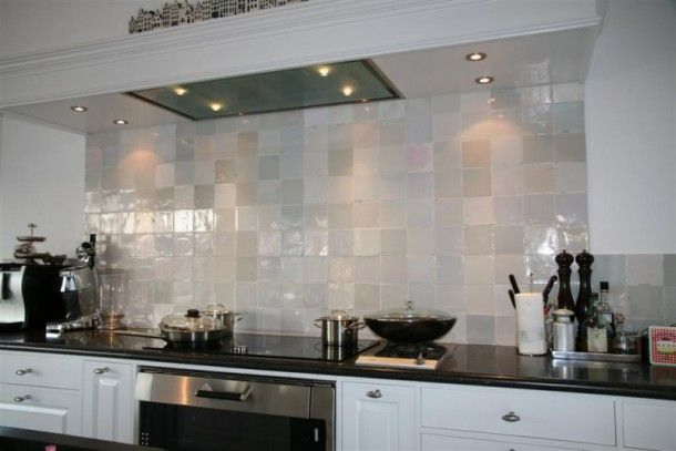 """These are the tiles I'm going to buy for the kitchen, bathroom and toilet. """"Witjes"""" are replica's of antique Dutch tiles which have been made since the 16th century and have never lost their charm."""