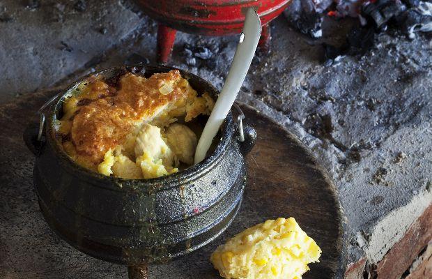 Thai Chicken Potjie Pie