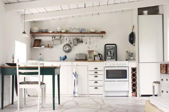 Muebles Antiguos Restaurados En Blanco : Vintage estilo retro clà ...