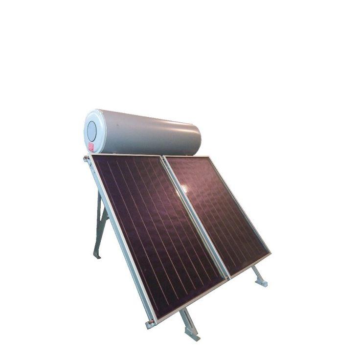 Equipo fabricado en España, produce 300 litros de agua caliente a través del Sol. www.nuevasenergias.eu