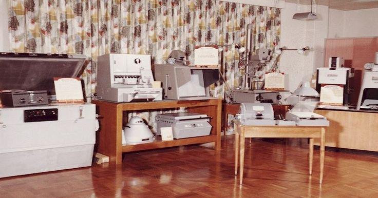 Kodak Australasia Pty Ltd, Graphics Product Display in Showroom, circa 1960s Photograph - Kodak, Product Display