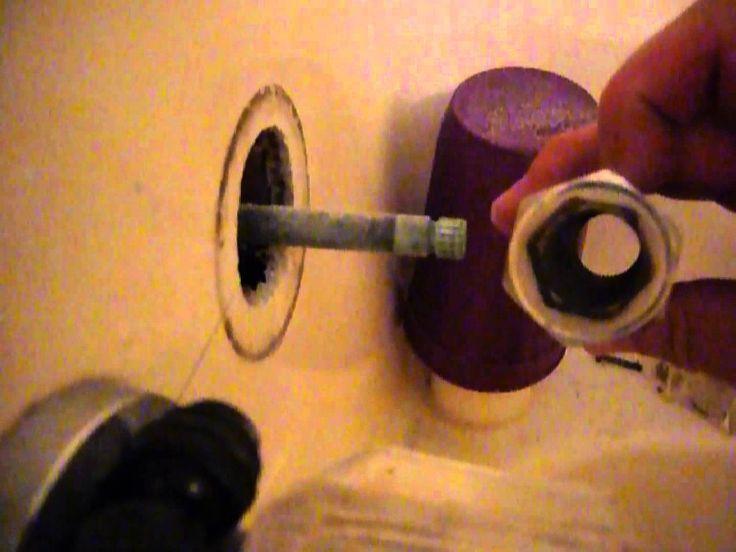 shower faucet repair thorough step by step