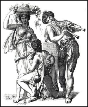 Famous clothes in ancient Greece that was quite popular in the ancient Greek.