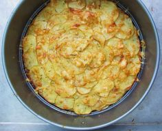 This golden galette potato recipe from Susie Middleton of sixburnersue.com is a great dish to bring to pot lucks - also super yummy as a side dish.