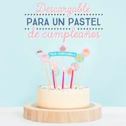 Descargable – Un pastel muy wonder para tu cumpleaños. | by Mr. Wonderful*