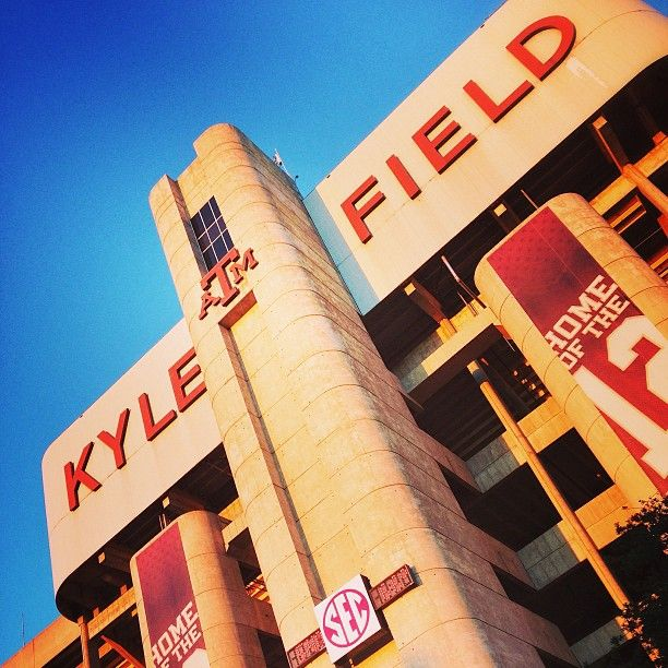 Kyle Field — College Station, Texas. Proud Momma of a Texas Aggie Grad!