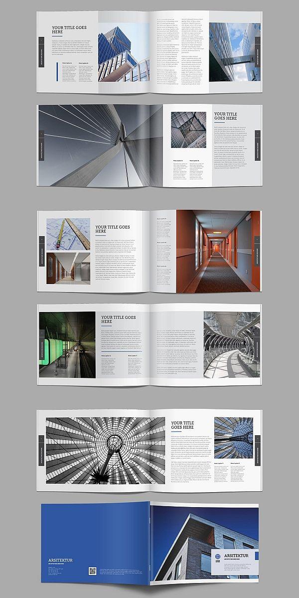 Architecture Brochure Brochure Templates Brochure design