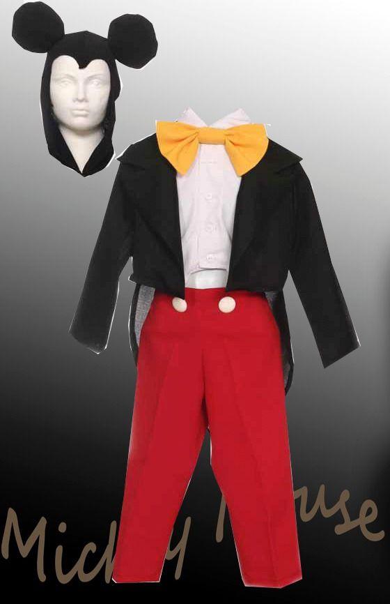 Vestuario De Mickey Mouse Para Ni 241 O Buscar Con Google
