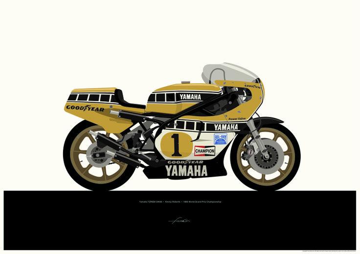 Yamaha YZR 500 Kenny Roberts by Francis Ooi