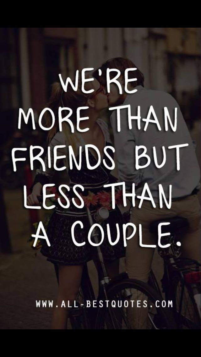 more than friends less lovers relationship outcome