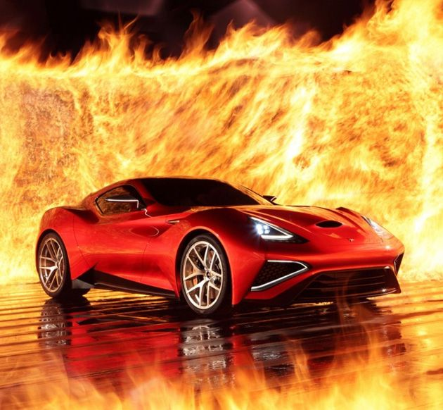 Icona Vulcano is arguably the biggest hit of the Shanghai Auto Show. This concept car was initially developed as a one-off style exercise to flout the Italian-owned but Shanghai-based design firm, Icona, but now, rumor has it that it's being considered for production.