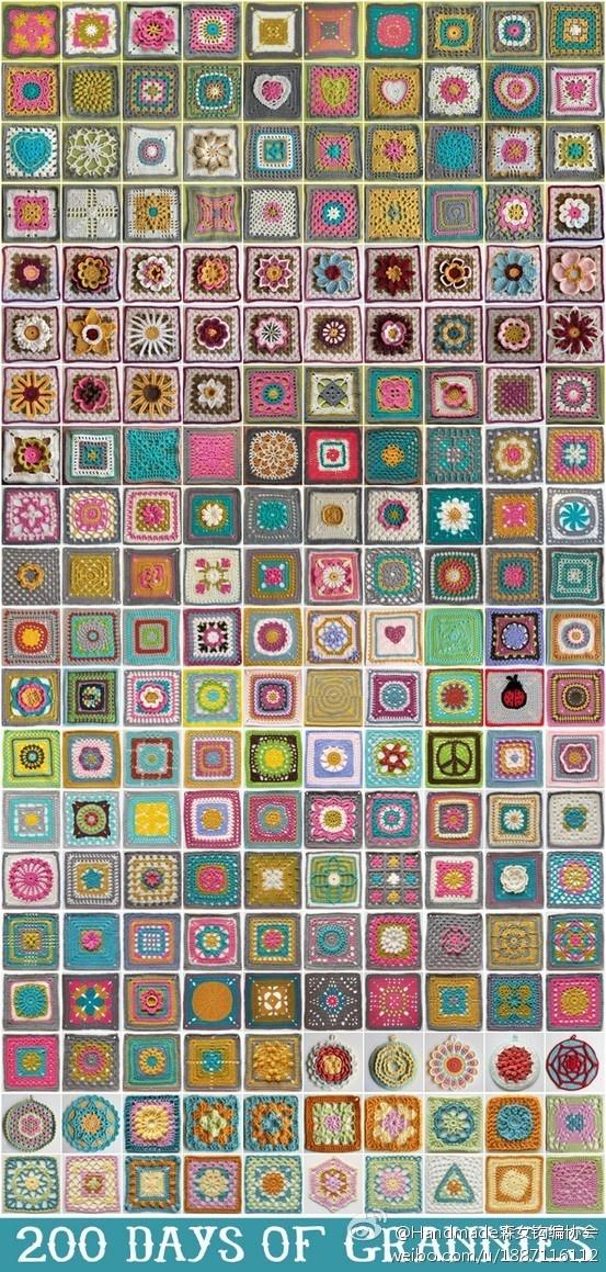 200 grannies - Crochet Atlas