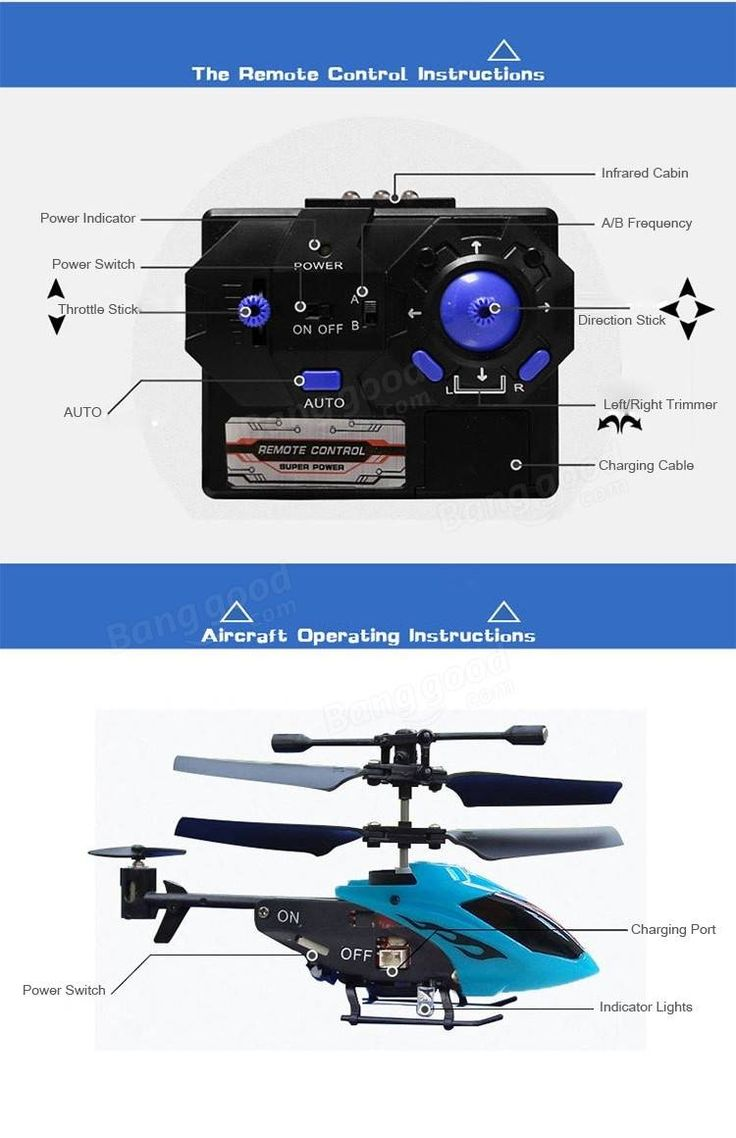 Mini 3.5CH RC Helicopter RTF With Gyro Kids Toy For Beginner