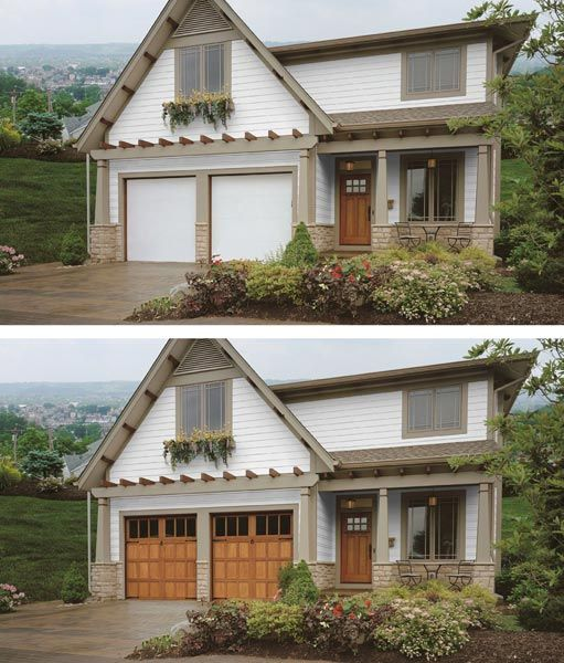 17 Best Images About Before And After Garage Doors On