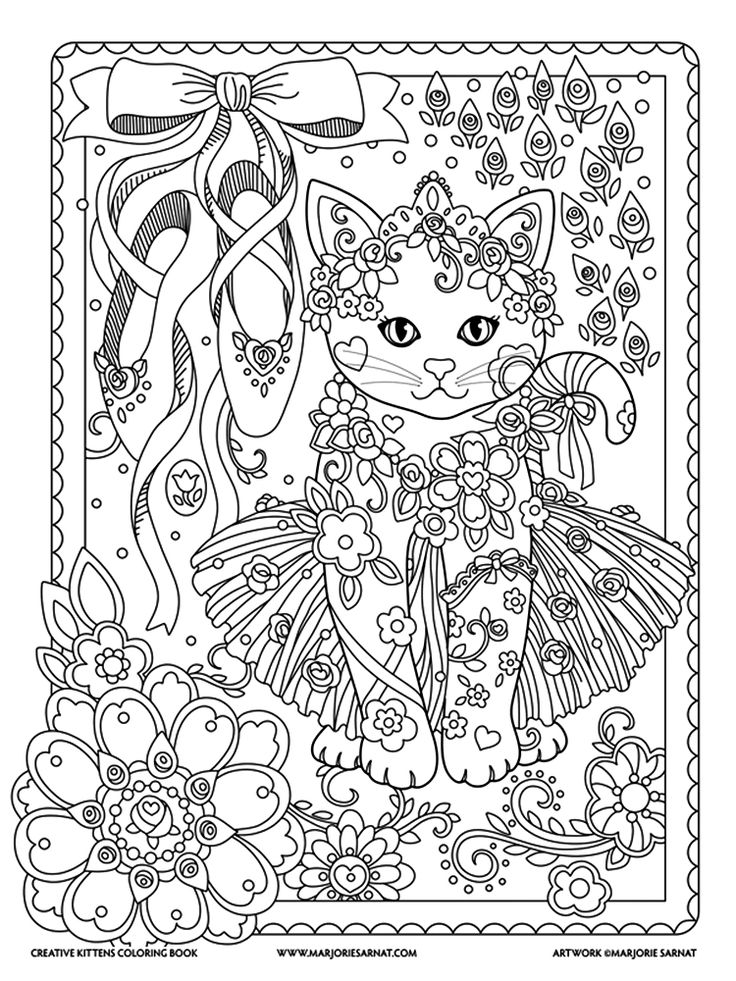 Marjorie Sarnat Creative Kittens