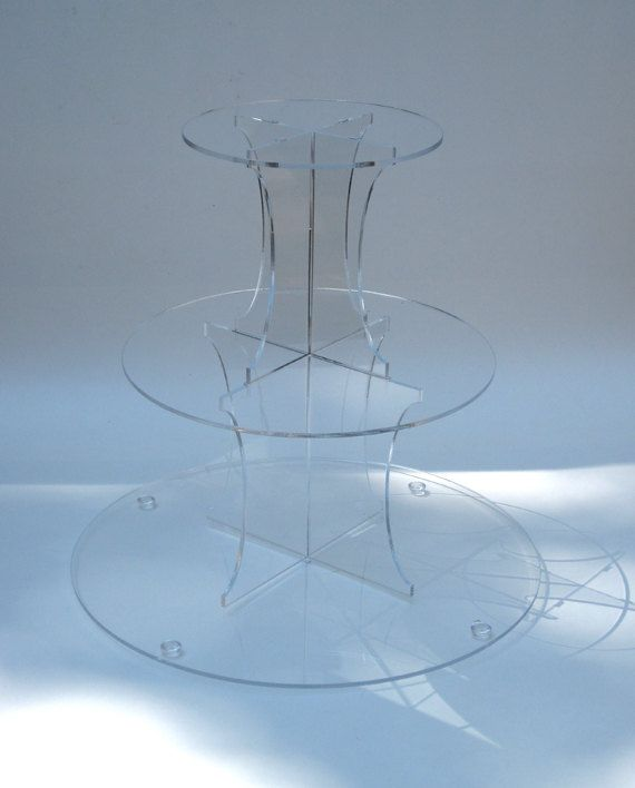 3tier+cupcake+stand+by+Plasticsmith+on+Etsy,+$32.00