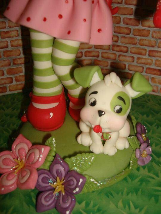Frutillitas y su mascota