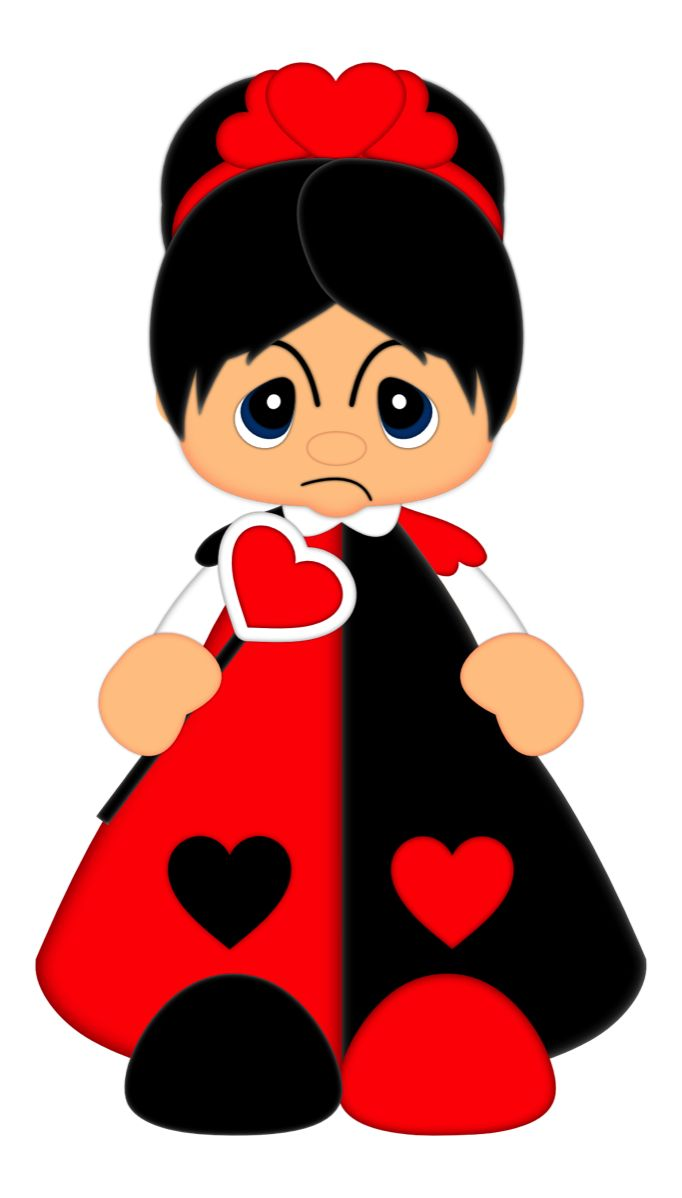Queen of Hearts from Scrap Factory | Valentine crafts ...