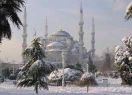Turkey istanbul snow