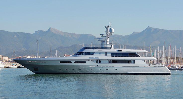Sette yacht di personaggi famosi - Icon