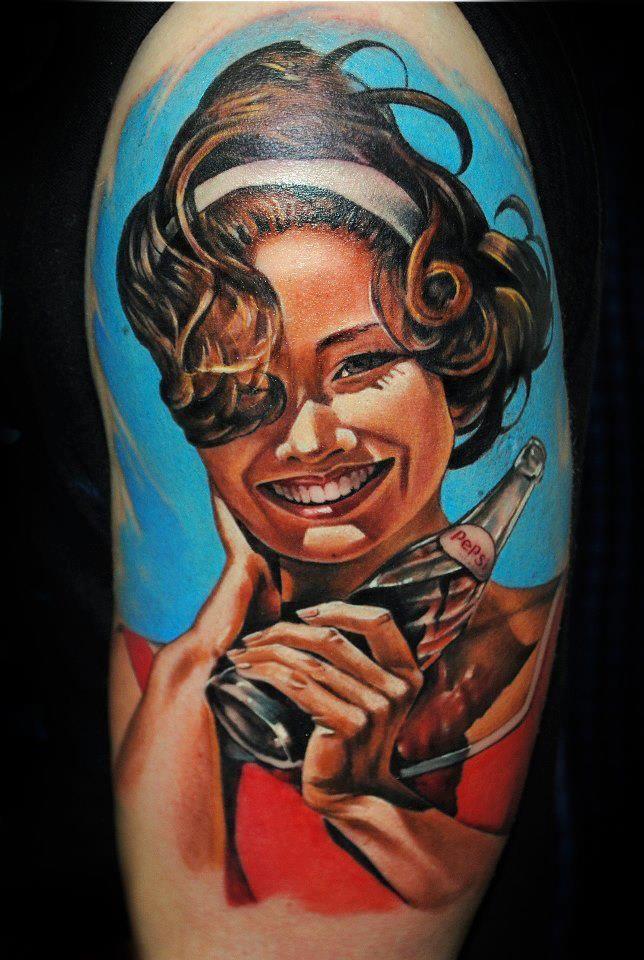 Color Tattoo Bookings / zapisy: rocknink@gmail.com