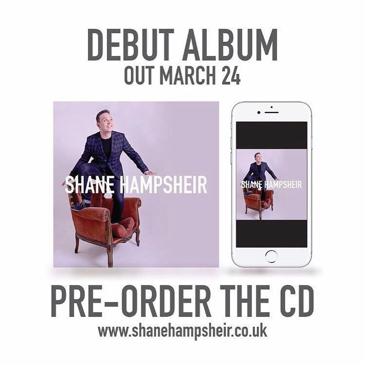 EXCITING!!! I'm so proud to say that my HUGE MASSIVE TITANIC ENORMOUS debut album will be available on iTunes Spotify and Amazon Music from tomorrow! Pre-order the CD from my website http://ift.tt/1MEL0h7 TODAY to ensure delivery on 25th March. #BigBand #Jazz #SwingSinger #PopSinger #Album #Talent #BBC #London #LondonJazz #LondonMusic #ShaneHampsheir #iTunes #Spotify #Amazon #Music #British #BRITs #Radio #Radio2 #BBCRadio2 #Kent #DartfordFestival #RonnieScotts #JazzClub @officialronnies…