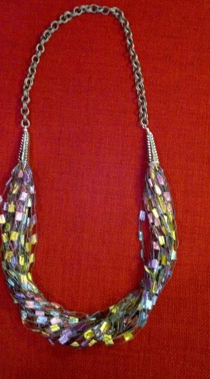 Projects On Craftsy Yarn Necklace From Finnms Crochet