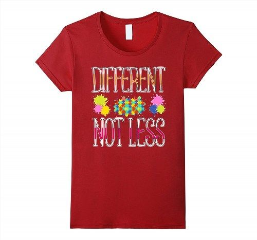 17.95$  Watch here - http://vikrf.justgood.pw/vig/item.php?t=hexnnm011960 - 2017 Gifts Autism Awareness T Shirt Different Not Less Women 17.95$