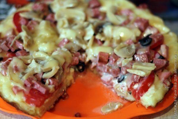 САМАЯ БЫСТРАЯ Пицца на сковороде за 10 минут - на бэби.ру