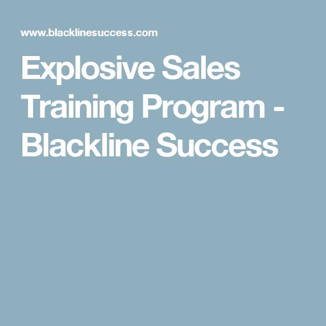 Explosive Sales Training Program - Blackline Success