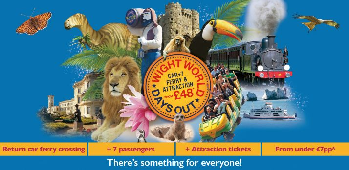 Wight World - Book Online with Wightlink Ferries
