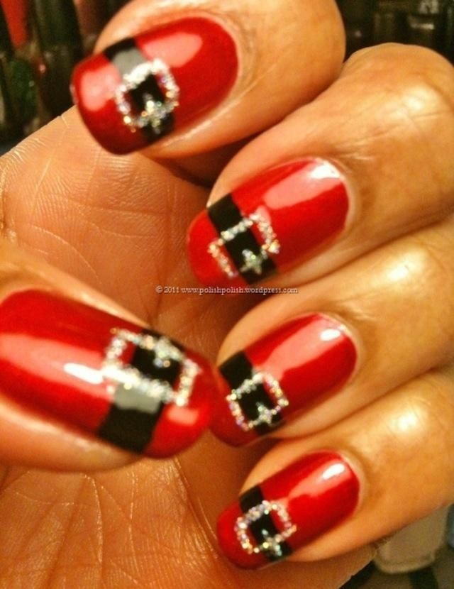 santa claus pedicure pictures | Uploaded to Pinterest