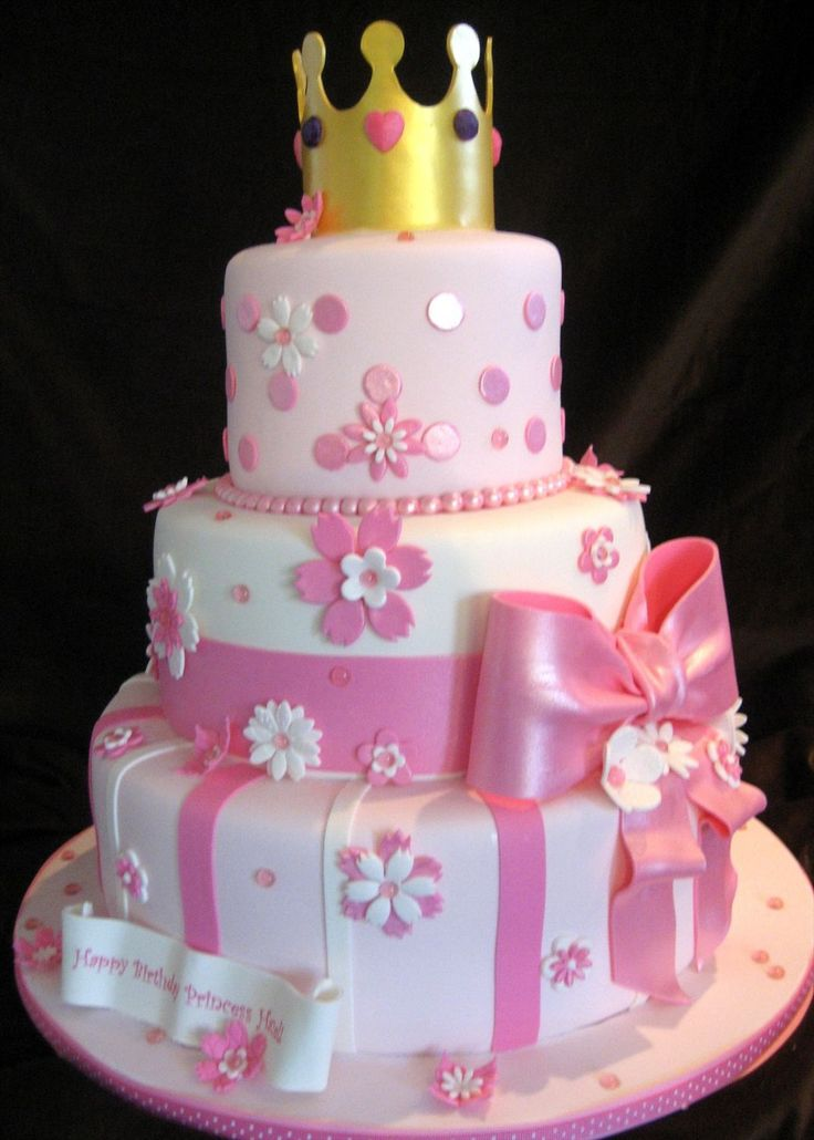Birthday Cake For Little Princess Image Inspiration of Cake and