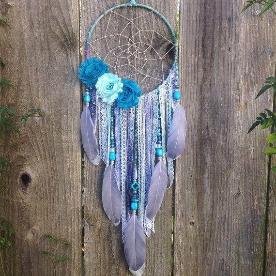 Custom Flower Dreamcatcher Dream Catcher Boho by InspiredSoulShop