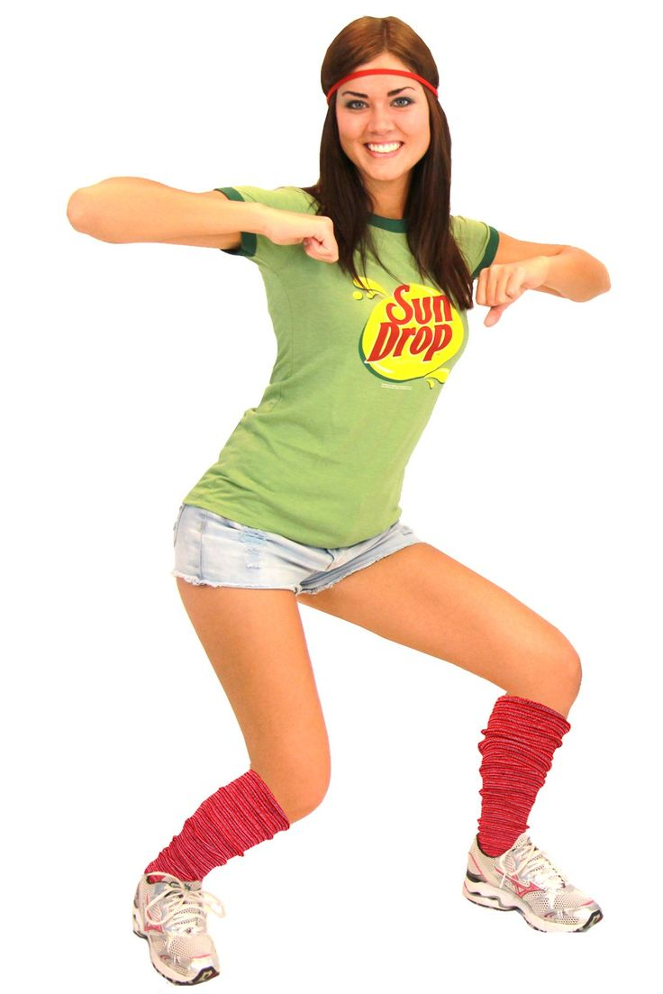 sun drop teen costume make it hot on halloween when you drop it low in this officially licensed sun drop adult teen costume set - Fun Teenage Halloween Costumes