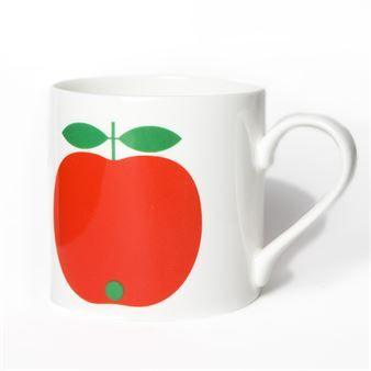 Omena-muki iso punainen 21€