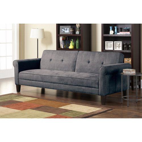 10 spring street ashton microfiber sofa bed nice beds for Spring sofa bed