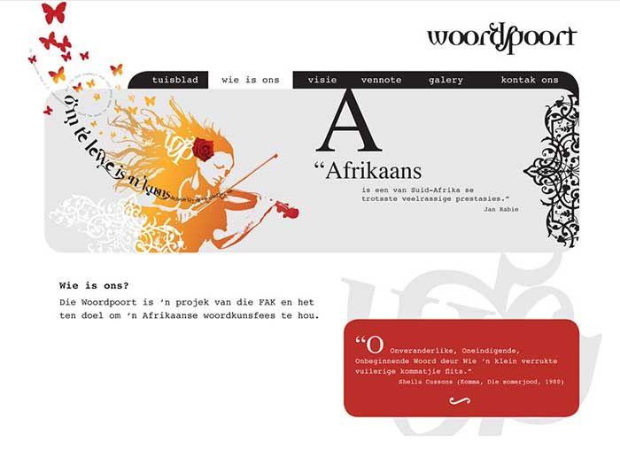 Woordpoort Website