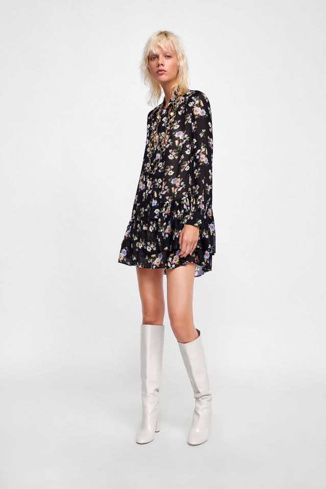 Robes Zara soldes hiver 2019  les plus beaux modèles à