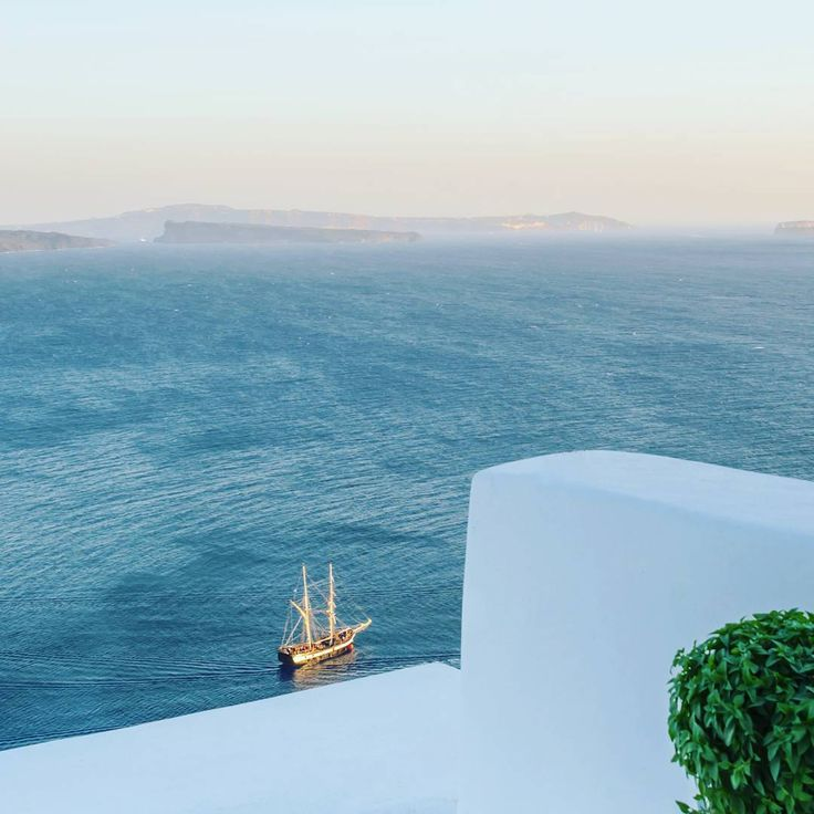 Capture this #iconic pic of #Cyclades from your #veranda and let yourself go with the flow...