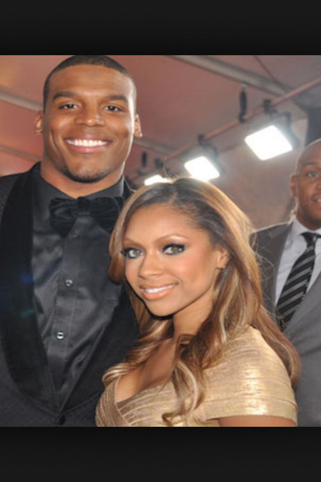 Cam Newton & Girlfriend Kia Porter