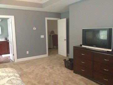 Steely Gray by Sherwin Williams - Bought this color for the main walls in the bedroom!