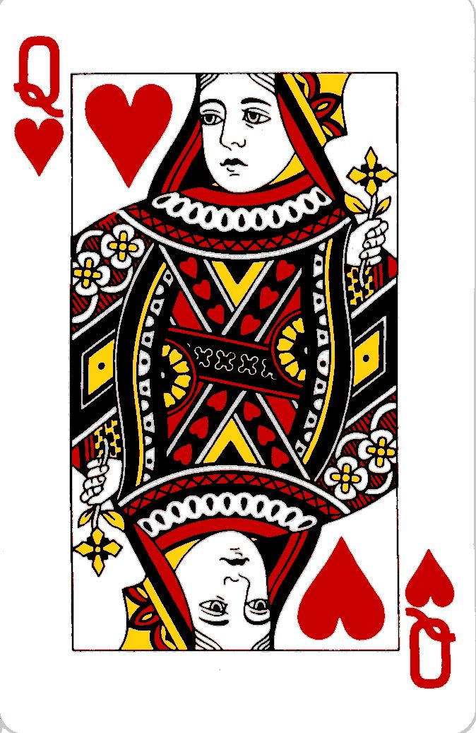 queen of hearts illustration Google Search Vday in