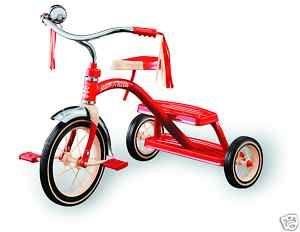 KINDER - DREIRAD * Rotes Retro-Dreirad * mit CE-Zeichen *   eBay