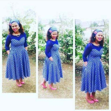 shweshwe dresses 2016 Archives - style you 7
